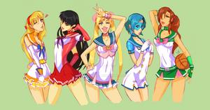 Sailor Moon by Ladybrot