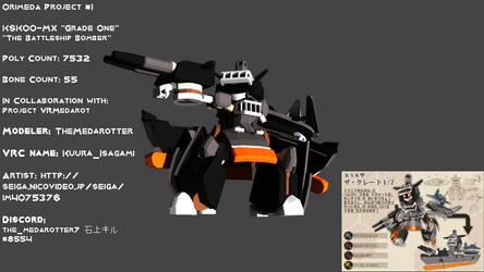 Orimeda Project #1 KSK00-MX 'Grade One' by TheMedarotter