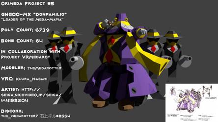 Orimeda Project #5 GNG00-MX 'Donfamilio' by TheMedarotter