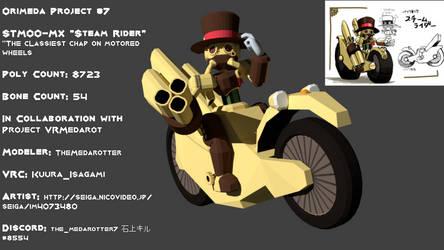 Orimeda Project #7 STM00-MX 'Steam Rider' by TheMedarotter