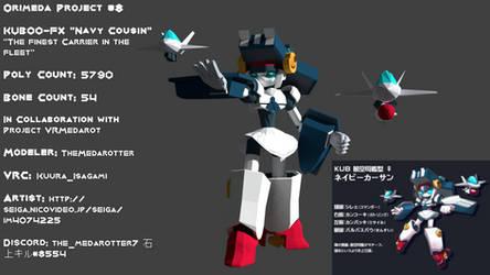 Orimeda Project #8 KUB00-FX 'Navy Cousin' by TheMedarotter