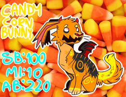 Candy corn bunny auction (SOLD)