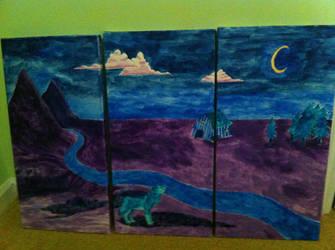 Triptych by raptoregg64