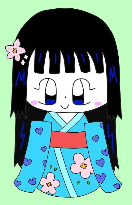 Kokeshi Laura 2 by DigitalPokeLau
