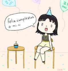 Happy birthday to me OwO
