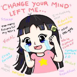 Change your mind left me