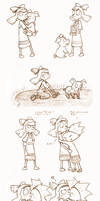 Helga and Abner