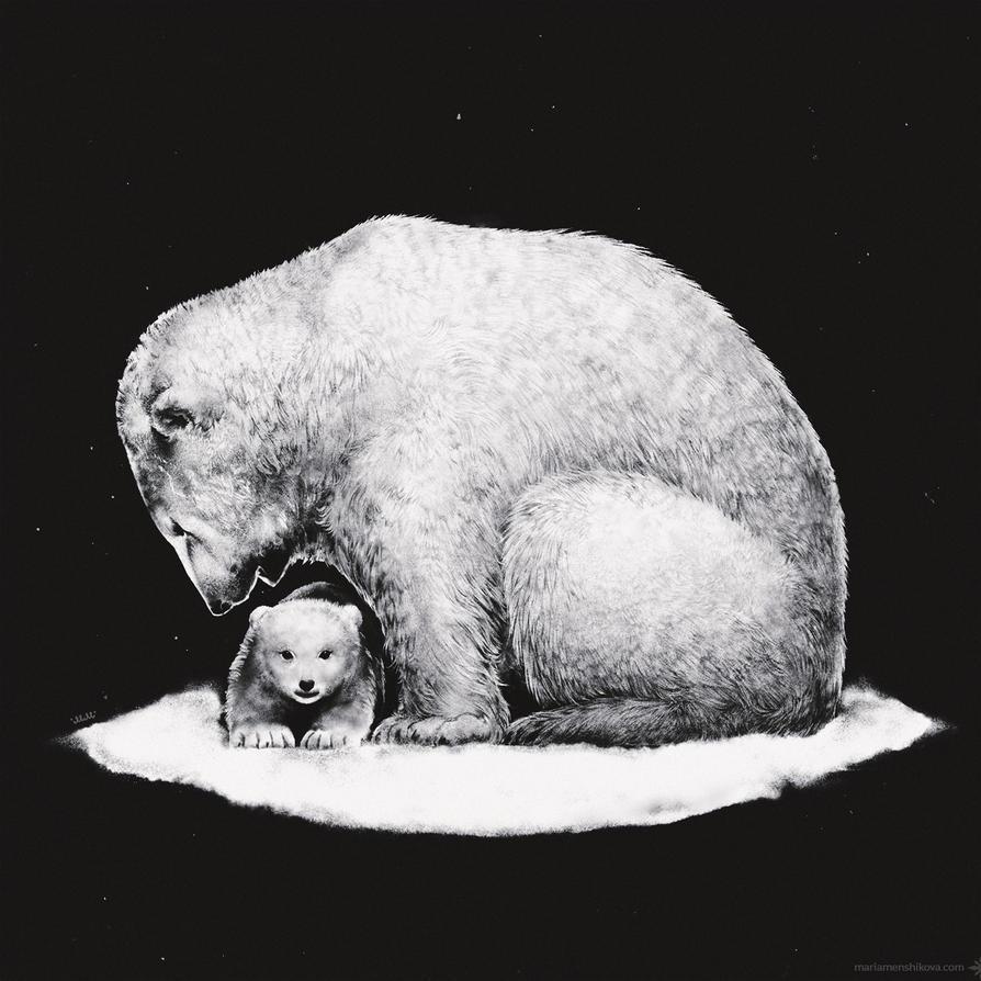 Eisbaer by maria-menshikova