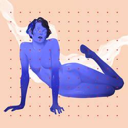 Blue female by maria-menshikova