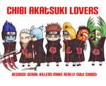 Chibi Akatsuki Lovers