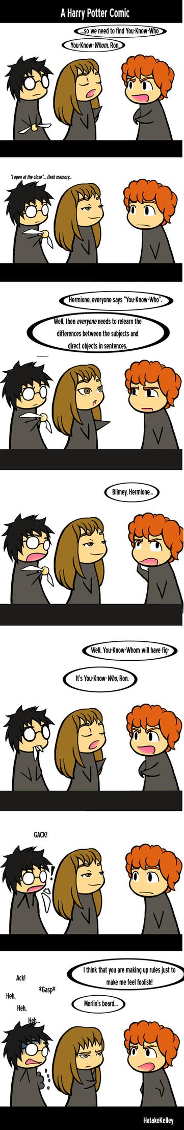 Harry Potter Comic by KelleyArline