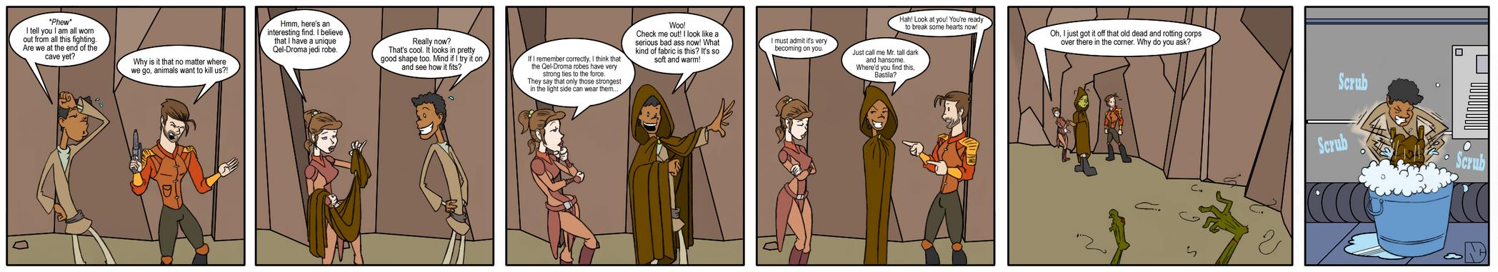 KOTOR: Revan's Cloak by Bug-Off