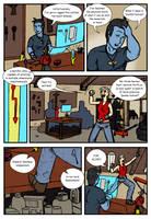 DU: Jeanne Nocturne vs Deviant Universe pg. 4 by Bug-Off