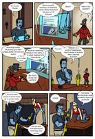 DU: Jeanne Nocturne vs Deviant Universe pg. 5 by Bug-Off