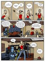 DU: Jeanne Nocturne vs Deviant Universe pg. 6 by Bug-Off