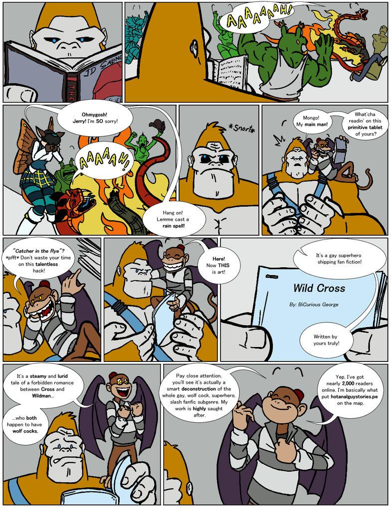 DU: Unlikable Alliance Pt.1 Pg.6 by Bug-Off