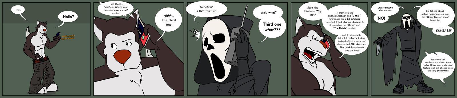 Diago vs Ghostface