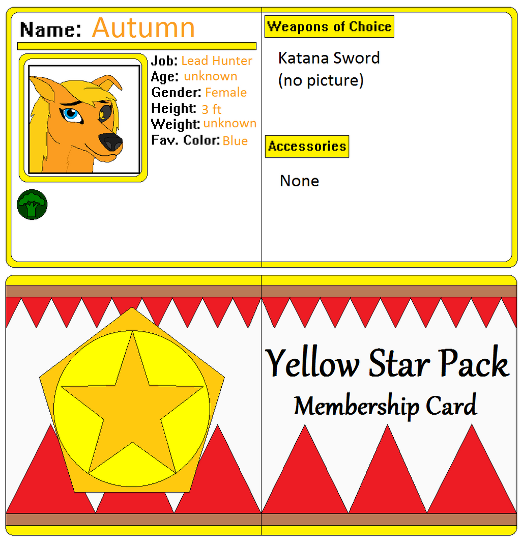 Autumns Membership card by AutumnMiracles on DeviantArt Borderlands Character Backstory