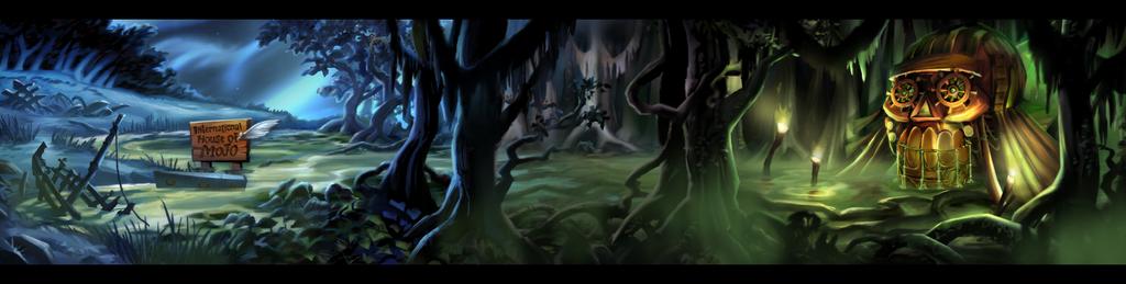 Curse Of Monkey Island Swamp