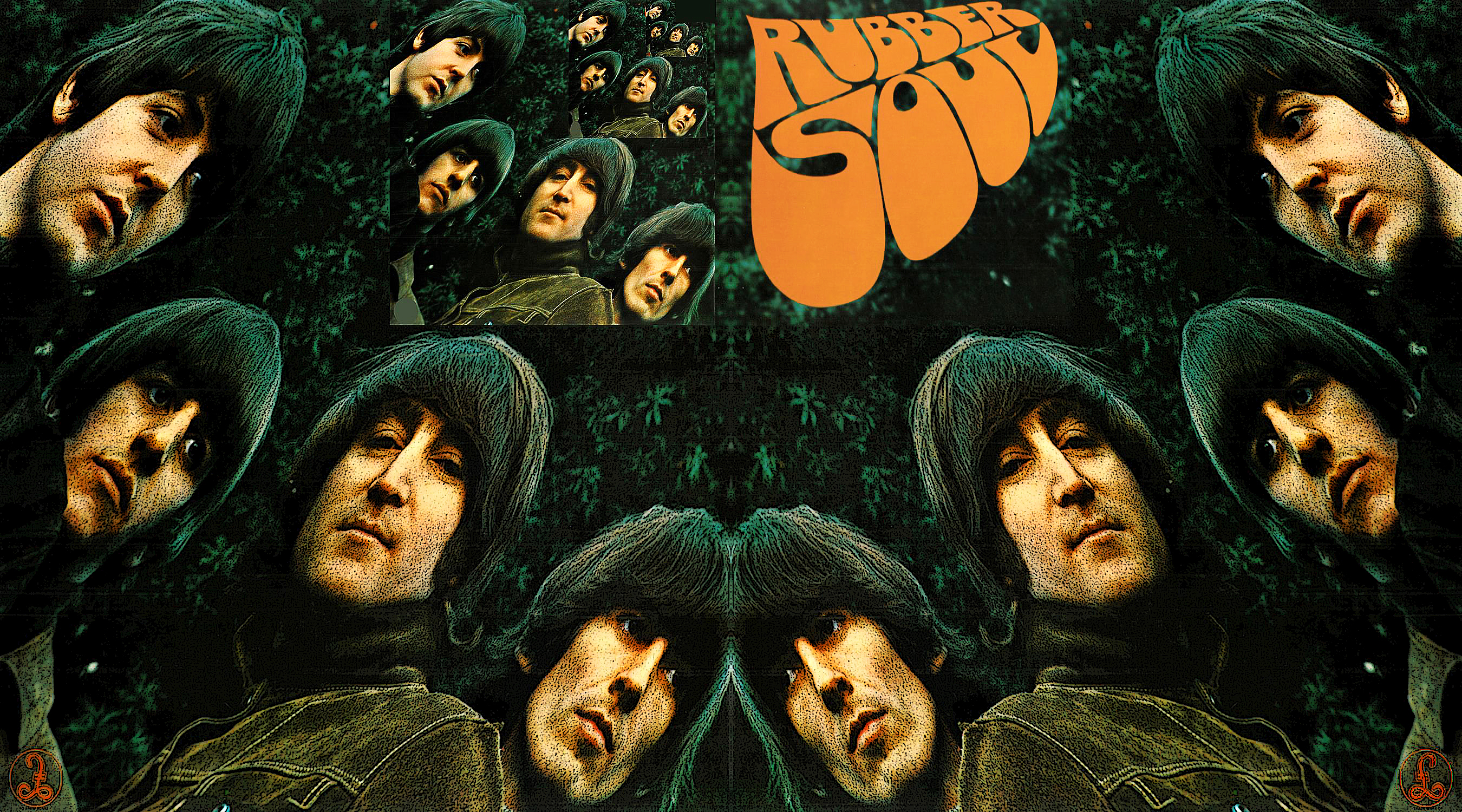 Beatles Rubber Soul 67