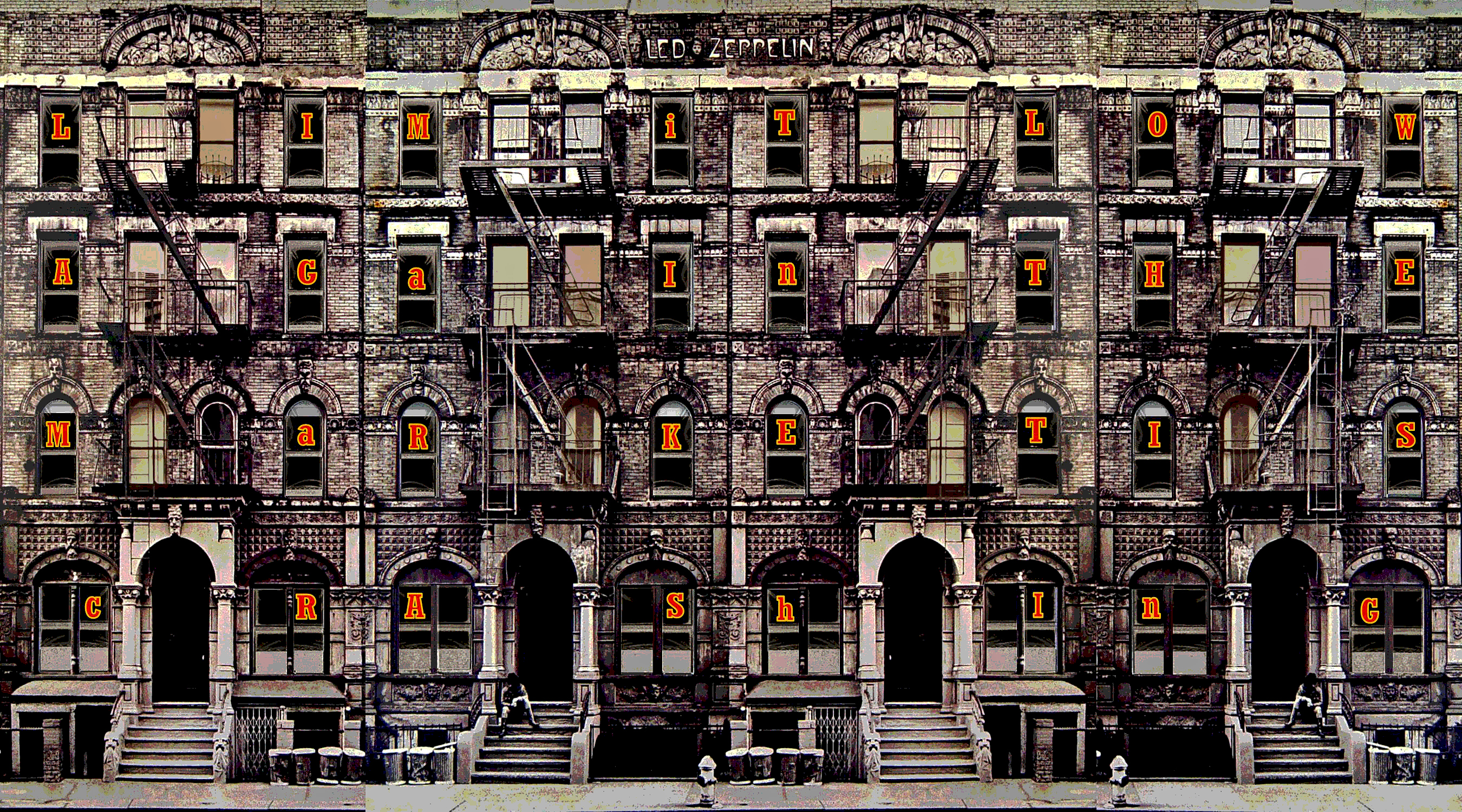 0037 - Led Zeppelin - Physical Graffiti by sunsetcolors on ...