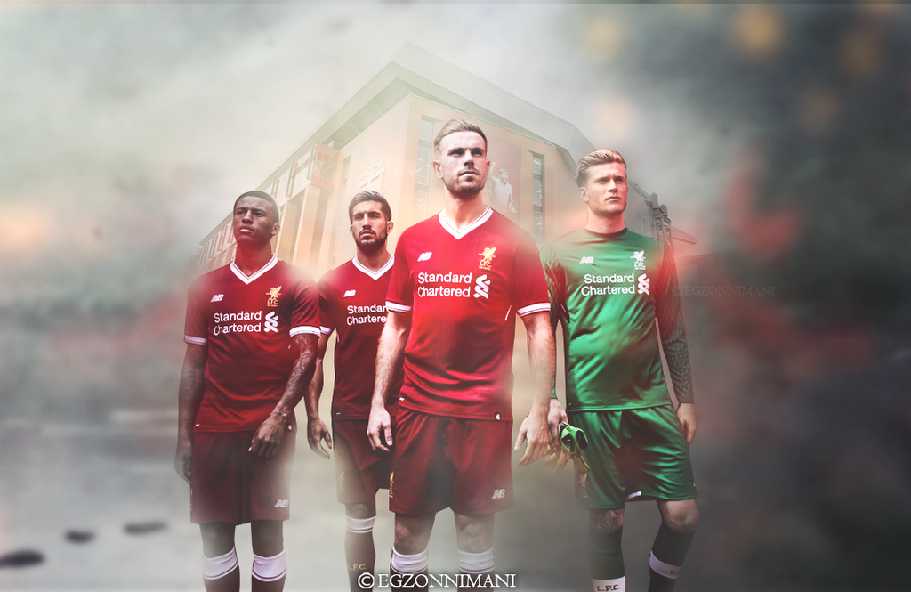 Liverpool 2017/18 home kit. by EgzonNimani