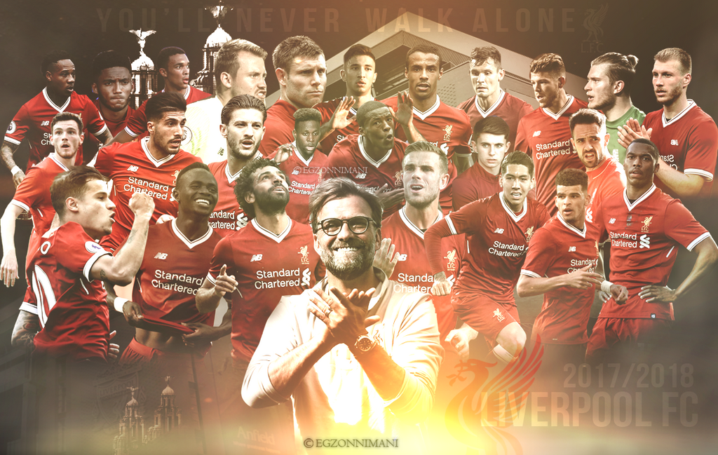 Liverpool FC 2017/2018 - Wallpaper by EgzonNimani