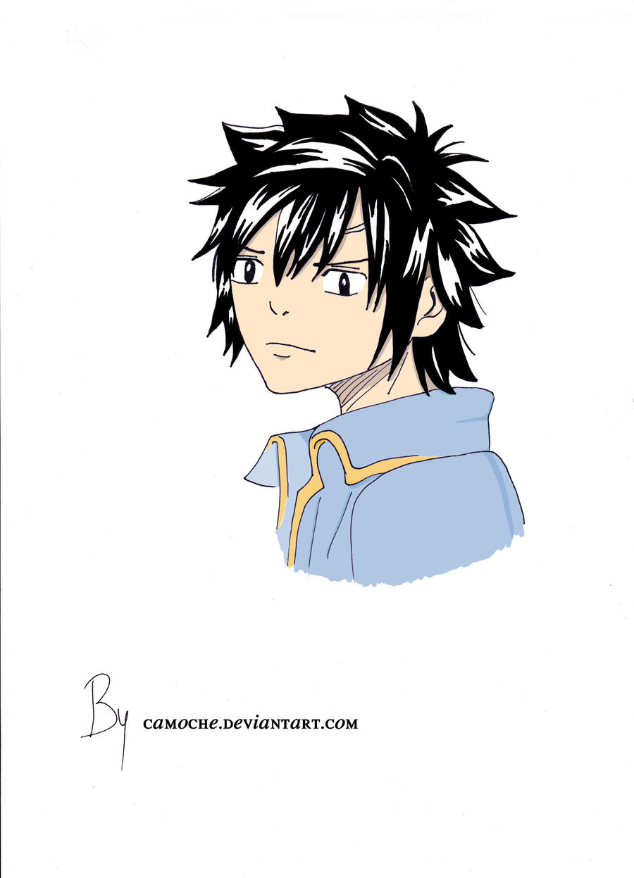 Dessins d'une patate cuite au four - Page 2 _colored__grey_fullbuster_by_camoche-d5bj66f