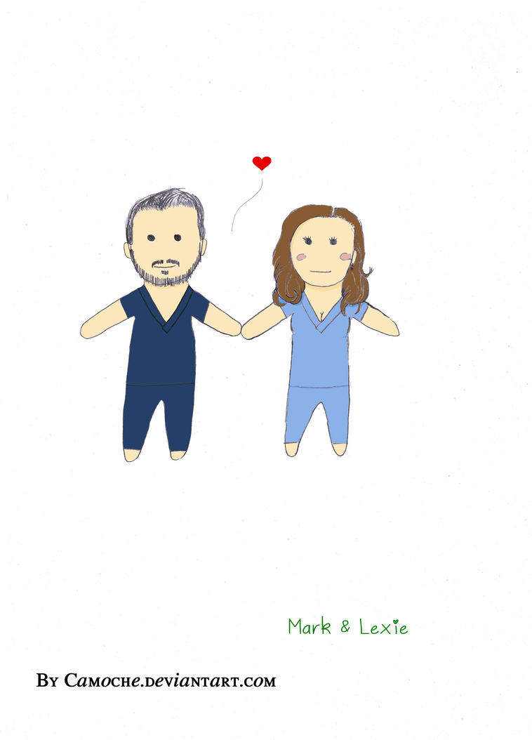 Mark / Lexie (colored) by Camoche on DeviantArt