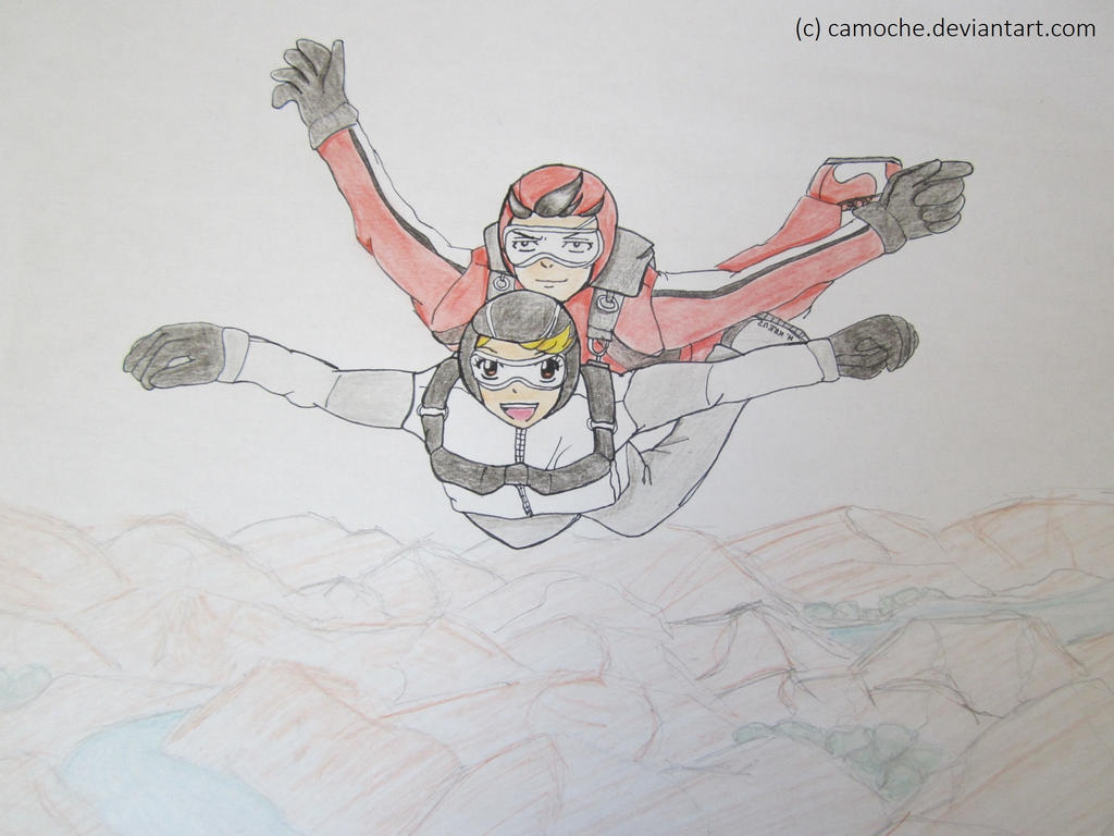 Dessins d'une patate cuite au four - Page 3 Graylu___sky_diving_by_camoche-d6md8fp