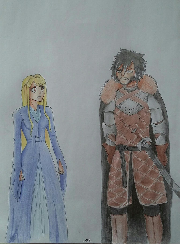 Game of Thrones x Fairy Tail by Camoche