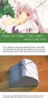 Chii ear tutorial by artflower