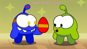 Om Nom's Easter Egg!