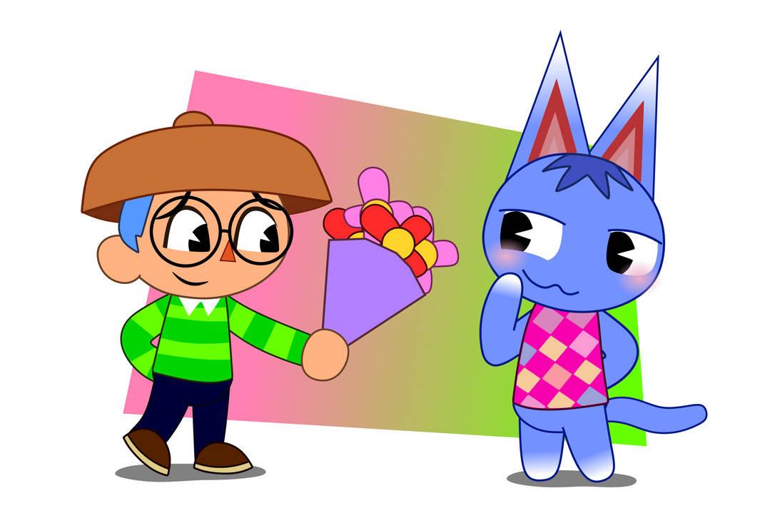 Animal Crossing - Xavier and Rosie