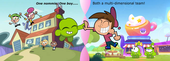 A Boy and a Nommie: Multi-dimensional Team.