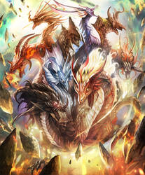 neo nine headed dragon