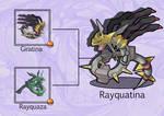 PokeFusion: Rayquatina