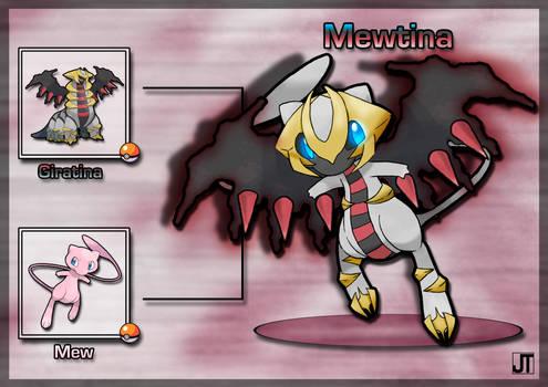 PokeFusion: Mewtina by JT-PokeKa