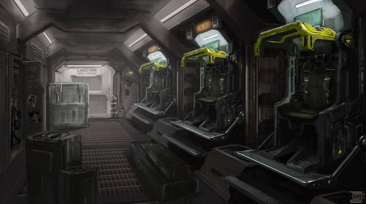 alien inside ship - HD1500×836