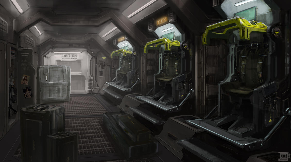Dropship Interior by cjuzzz