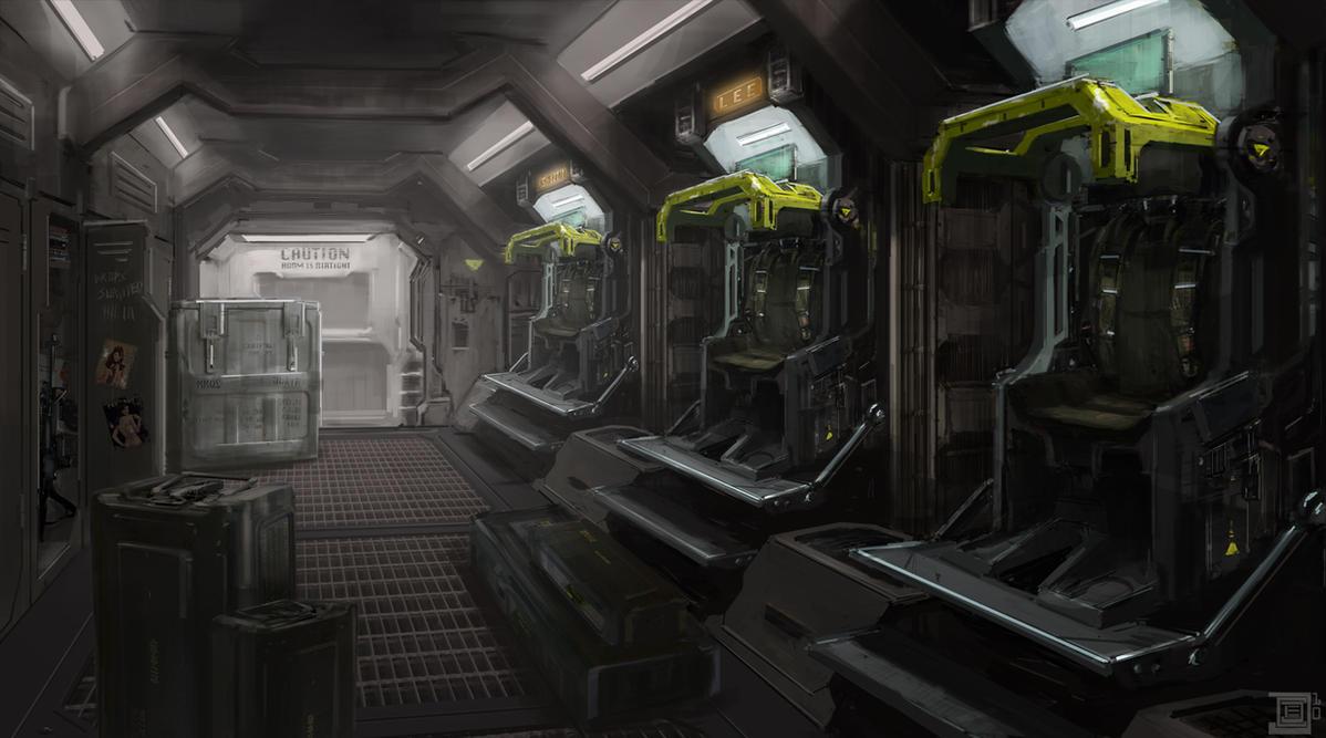 Dropship Interior by cjuzzz