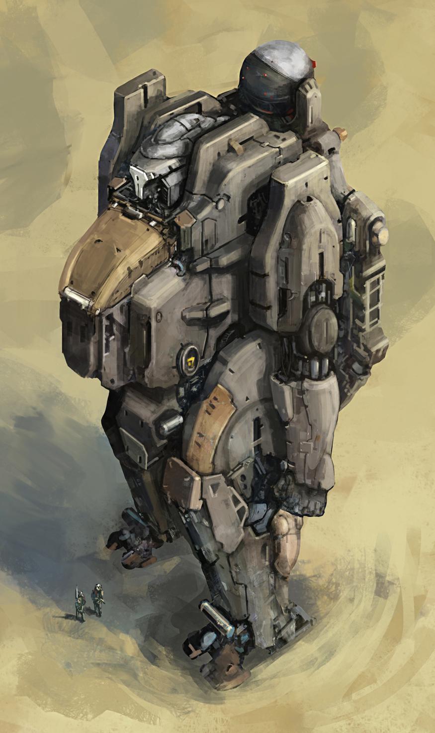 Mech Suit 2 by cjuzzz