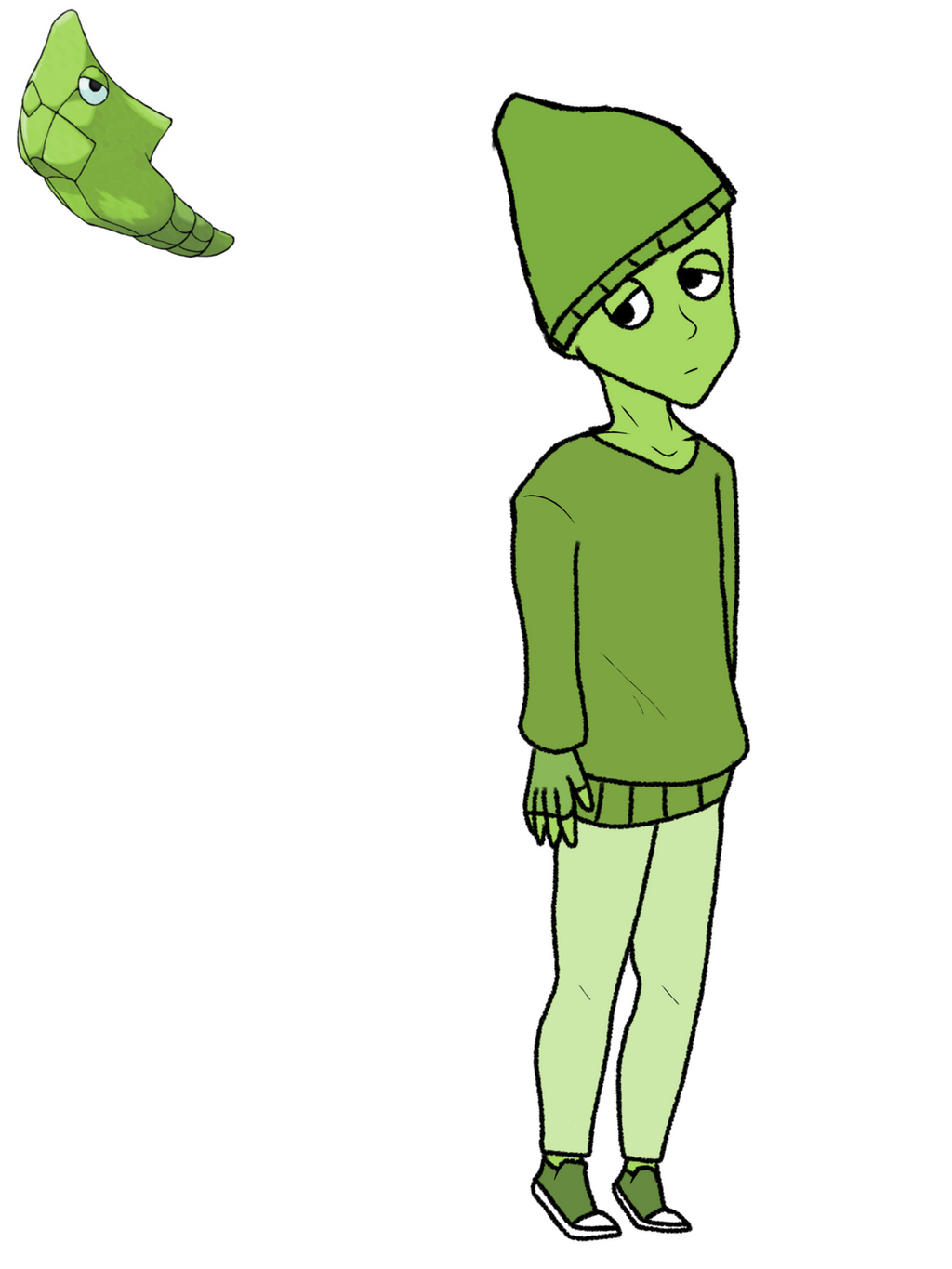 Gijinka Metapod by Vocaloidlolls21 on DeviantArt