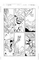 Red Hulk Sample by pietro-ant