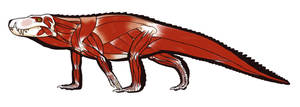 Baurusuchus salgadoensis by pietro-ant