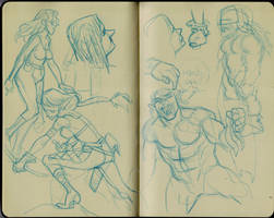 Roughs by pietro-ant