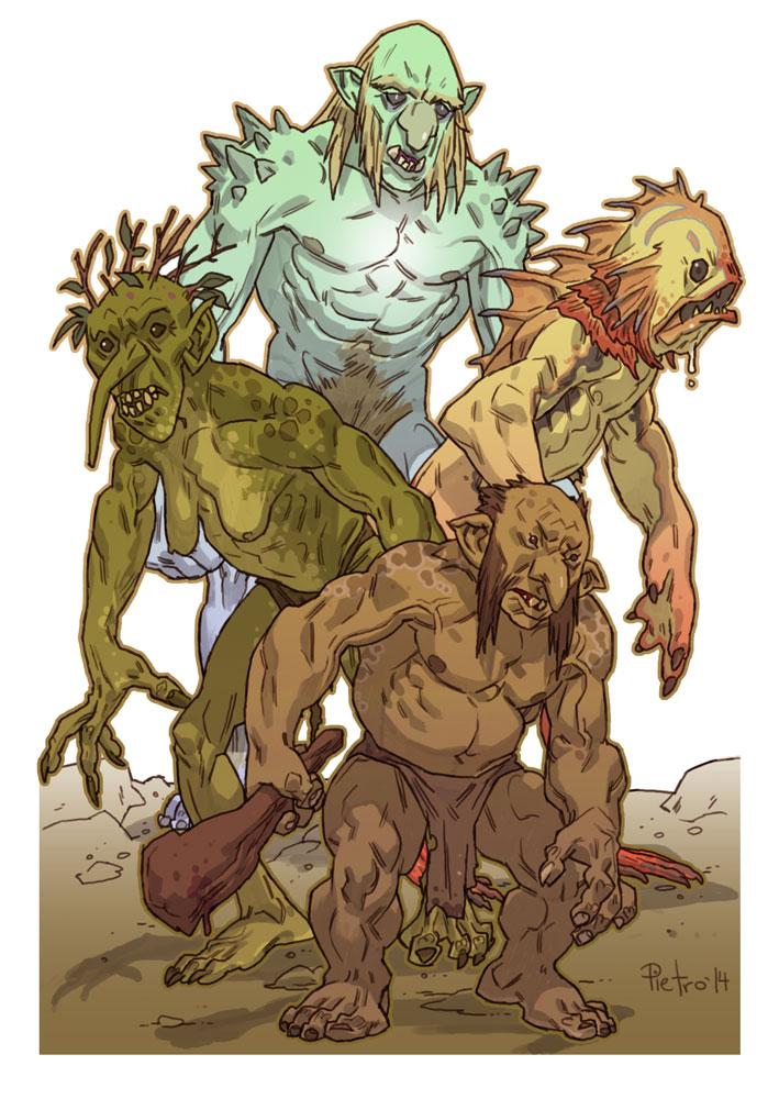 Trolls by pietro-ant