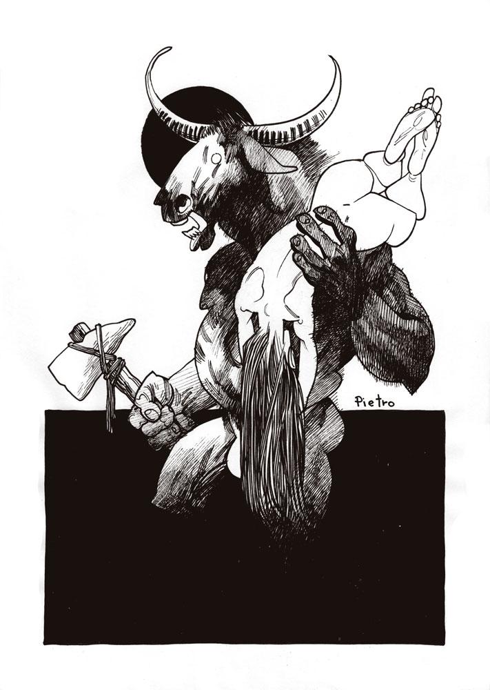 Minotaur by pietro-ant