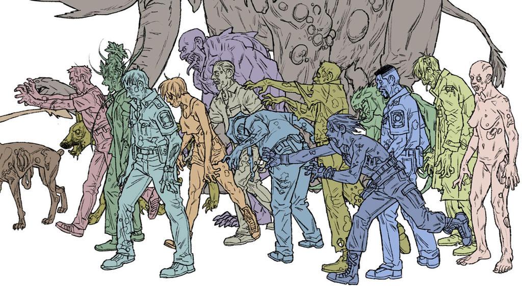 Zombie Walk by pietro-ant