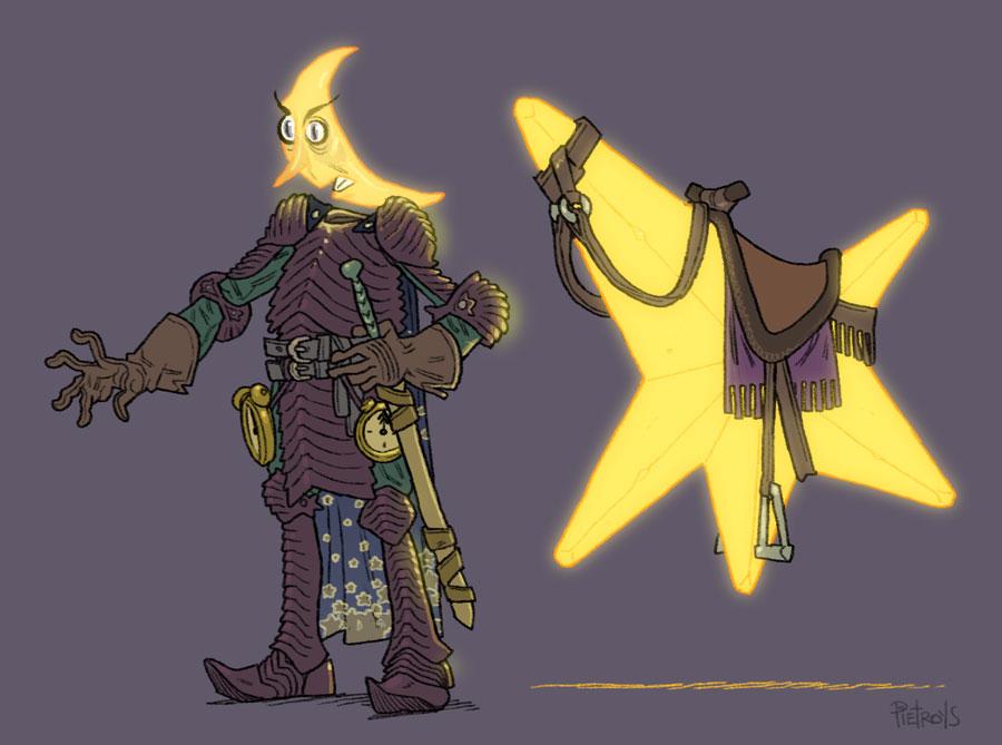 Midnight Horseman by pietro-ant
